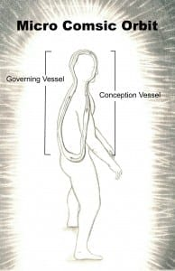 Figure 9- Micro-Cosmic Orbit, governing and Conception vessesl